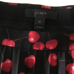 J. Crew Cherry Skirt
